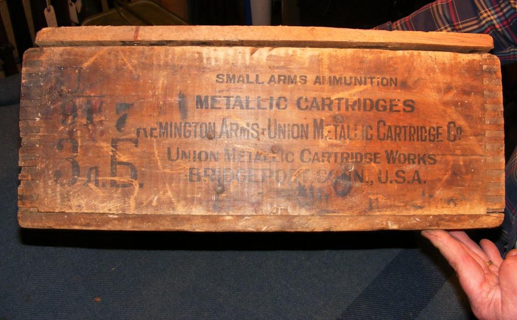 remington ammo box history